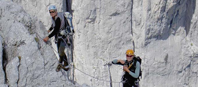 2-Tages-Seminar: Grundlagen Alpinkletterns erlernen