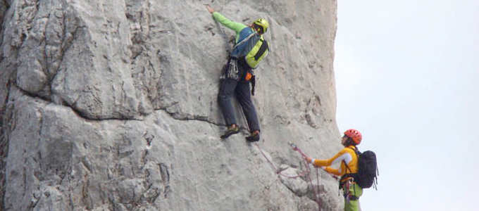 2-Tages-Seminar: Grundlagen Mehrseillängen-Klettern