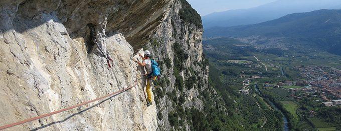 Arco - Klettern am Gardasee